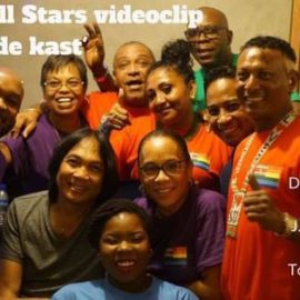 Launch Event Allstars music videoclip 'Kom uit de Kast'