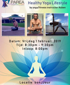 Introduction to a healthy lifestyle by yoga & fitness instructor Ruben Ortega