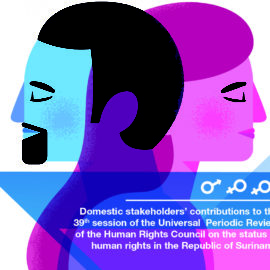 Schaduwrapport contributie Suriname Universal Periodic Review: Sexual, Reproductive Rights, Women's Rights and Gender Equality, Non-Discrimination